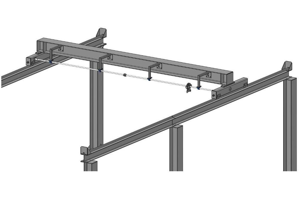 Dawnus Construction Ltd, Cowlyd Lower Powerhouse Crane
