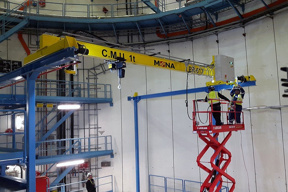 Installation of Electric Overhead Travelling Crane for CERN